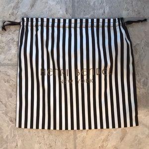 Henri Bendel dust bag